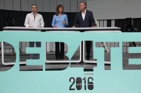 Ana Blanco gaña o debate electoral acatro