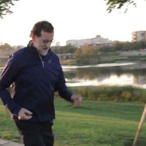 Rajoy fará videos trotando por todas as cidades exceptoPontevedra