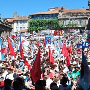 Esquerdallada nacionalista reivindicará en Compostela separar un trozo de la gloriosa naciónespañola