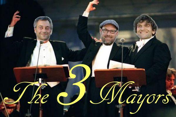 3 alcaldes