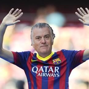 O Barça lanza unha campaña de apoio aBárcenas