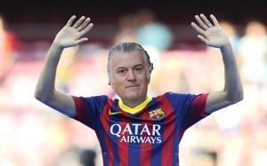 Imaxe da campaña do Fútbol Clube Barcelona.