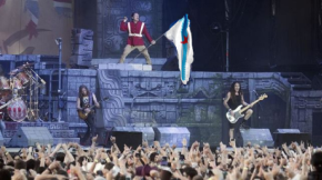 Iron Maiden pechou o Resurrection Fest cunha versión de Ana Kiro [Video no interior]