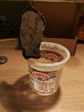 TemposGalegos Reviews – O iogur de Licor Café deLarsa
