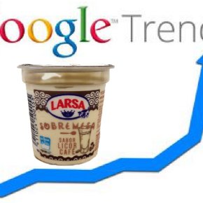 O iogur de licor café de Larsa superou á pornografía como o máis buscado enGoogle