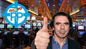 Aznar fundará o seu propio PP, con casinos efurcias