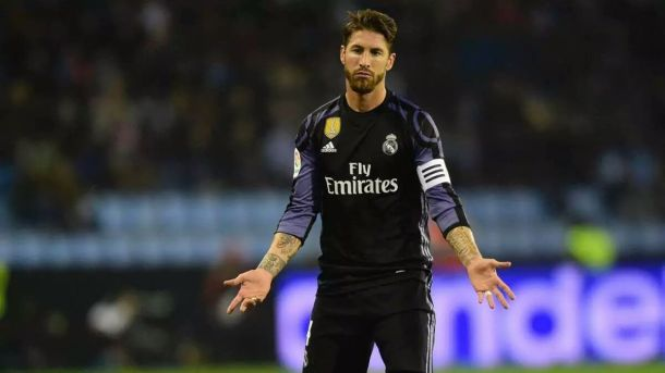 Sergio Ramos non entende a propiedade da suma.