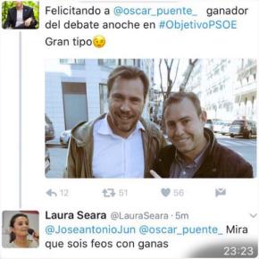 A xestora do PSOE crea unha listaxe cos seus representantes máisguapos