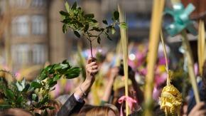 O Domingo de Ramos de Ferrol remata entrifulca