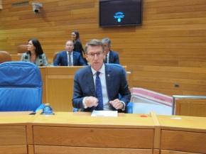 Feijóo fala máis de Cataluña que de Galiza no Debate sobre o Estado da NaciónGalega