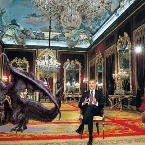 El Rey esixe que lle traian dragóns einmaculados