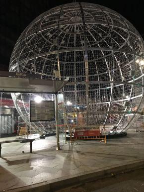 Abel Caballero comeza a construcción da Estrela daMorte