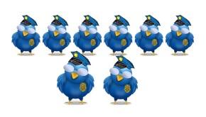O PP e C's avisan a Twitter: '280 caracteres son muchos, mejor155'