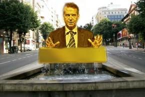 A estatua dos redeiros de Vigo será substituída por un busto de AbelCaballero