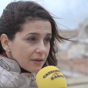 Inés Arrimadas agradece a festa de Baiona na súahonra