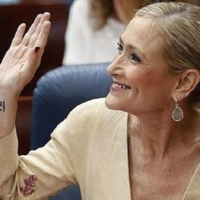 As tatuaxes de Cristina Cifuentes poderían serchuletas