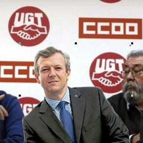 CCOO, UGT e Alfonso Rueda convocarán manifestación conxuntas este 1º demaio