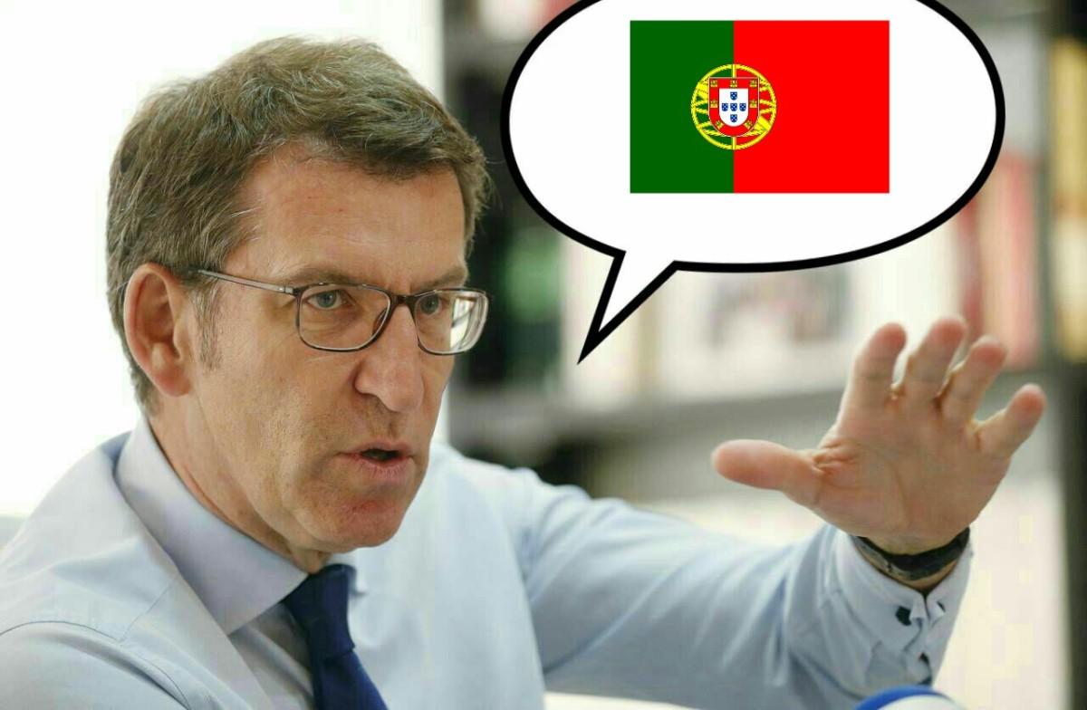 Cancelan DiarioCultural e no seu lugar porán a Feijóo falando portugués en bucle