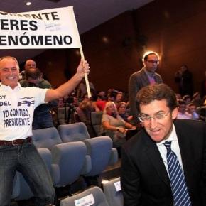 O PP pensa que Feijoo ten un 'futuro Dorado' pero el non quere meterse enfariña