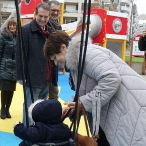 Atopado en Vigo un neno falandogalego